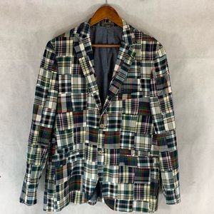 Johnston & Murphy Plaid Sports Coat